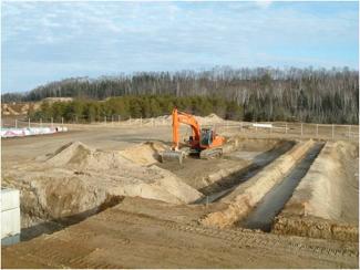 Projet-commercial-bassins à la Régie Intermunicipale des déchets de la rouge, Environnement
